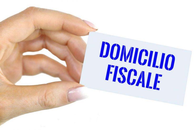 domicilio fiscale contrbuente